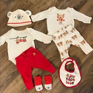 Gymboree 0-3 Months Holiday Bundle